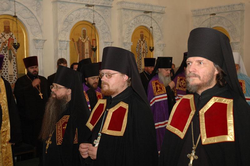 Наречение архимандрита Игнатия (Пунина) во епископа Вяземского, викария Смоленской и Калининградской епархии