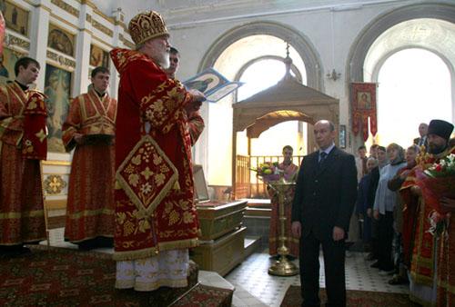 Председатель Рязанской городской Думы Федор Провоторов награжден орденом святого благоверного князя Даниила Московского