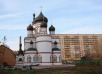 Патриаршее служение в день памяти вмч. Димитрия Солунского в московском храме вмч. Димитрия на Благуше