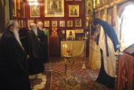 Члены Священного Синода совершили литию по епископу Доримедонту
