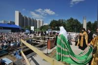 Патриаршее слово по совершении чина основания храма Покрова Пресвятой Богородицы в Ясеневе
