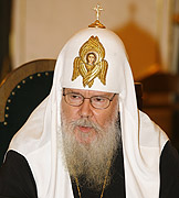 Слово Святейшего Патриарха Алексия на встрече с делегацией Ливана