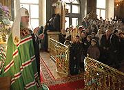 Патриаршее слово после Божественной Литургии в Николо-Кузнецком храме в день иконы Божией Матери 'Утоли моя печали'
