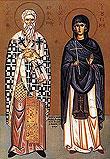 В Москву прибывают святые мощи священномученика Киприана и мученицы Иустины