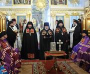 Святейший Патриарх Кирилл совершил наречение наместника Александро-Невской лавры архимандрита Назария (Лавриненко) во епископа Выборгского
