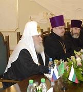 Патриаршее слово на встрече с премьер-министром Болгарии Сергеем Станишевым