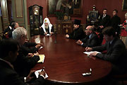 Состоялась встреча Святейшего Патриарха Алексия с Генеральным секретарем Организации Исламская конференция Э.Ихсаноглу