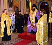 Русскую духовную миссию в Иерусалиме посетил епископ Зарайский Меркурий