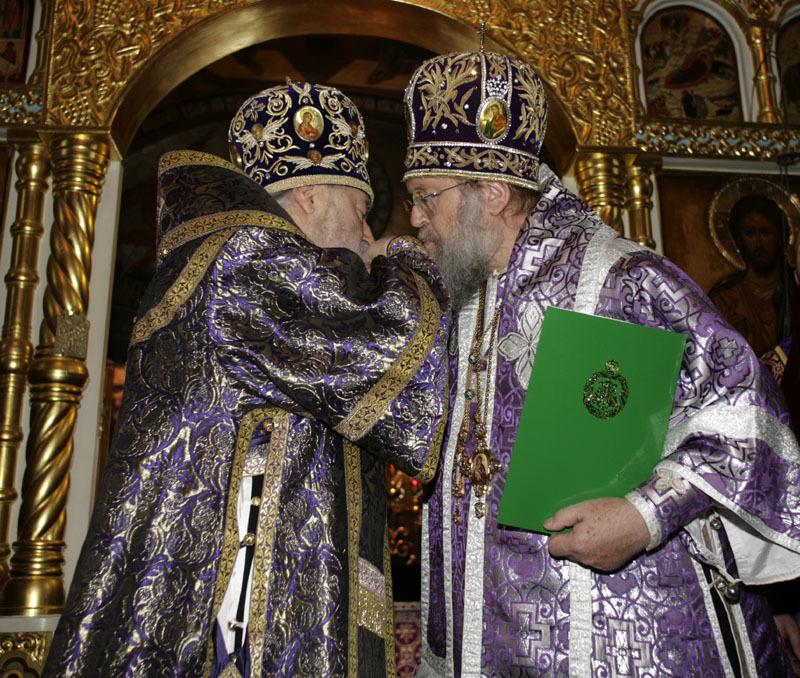 Отпевание и погребение митрополита Лавра