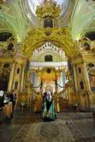 В Петропавловском соборе Санкт-Петербурга впервые совершена Патриаршая Божественная литургия