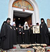 Слово Предстоятеля Русской Православной Церкви при посещении Успенского собора во Владимире-Волынском