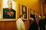 Выставка портретов 'Под покровом Божией Матери. Художники России о России' открылась в Сербском посольстве в Москве