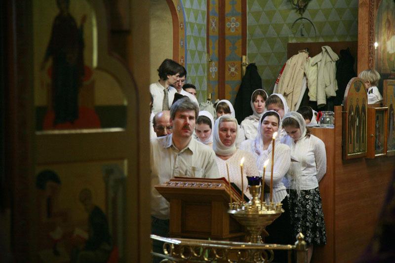 Великое освящение храма преподобного Марона в Старых Панех