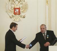 Руководитель пресс-службы Украинской Православной Церкви Василий Анисимов награжден орденом Дружбы