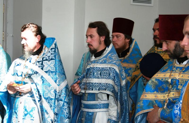 Освящение Свято-Успенского кафедрального собора в Омске