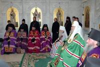 Святейший Патриарх совершил наречение архимандрита Романа (Гаврилова) во епископа Серпуховского, викария Московской епархии