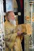 Последний день Патриаршего визита в Нижегородскую епархию. Божественная литургия в Феодоровском монастыре Городца.