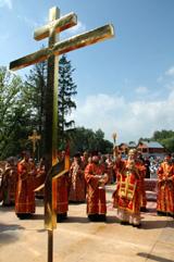 Состоялось ежегодное празднование в честь собора Бутовских новомучеников