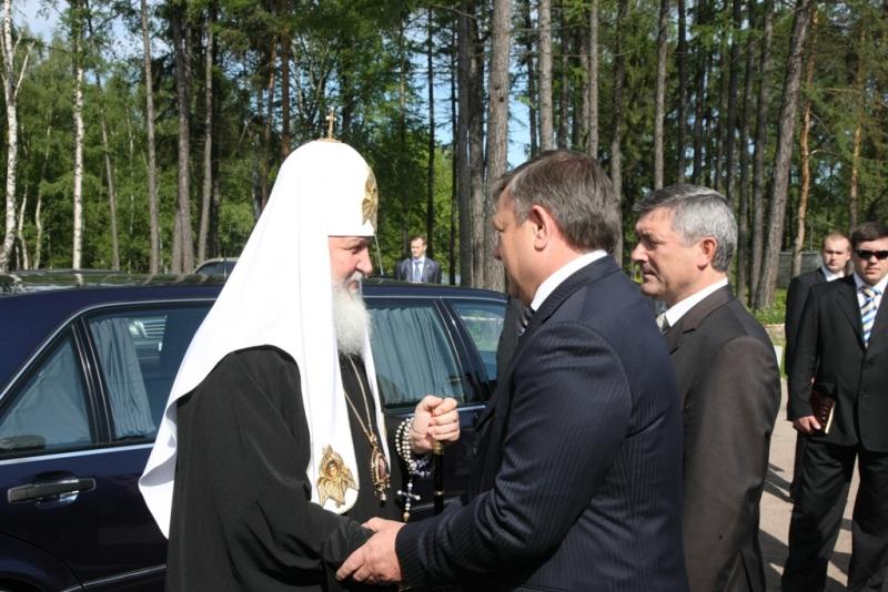 Посещение Святейшим Патриархом Кириллом храмов Ленинградской области