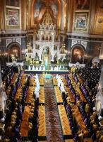 В Храме Христа Спасителя начал работу Поместный Собор Русской Православной Церкви