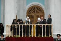 Патриарший визит в Мордовию. Освящение кафедрального собора в честь св. прав. воина Феодора Ушакова.