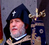 Католикос всех армян Гарегин II благодарит членов Конгресса США за поддержку в армянском вопросе