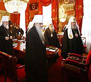 Открылось заседание Священного Синода Русской Православной Церкви