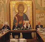 Патриаршее слово Слово Святейшего Патриарха Алексия на заседании Попечительского совета по возрождению Марфо-Мариинской обители милосердия