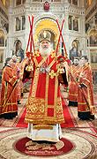 Святейший Патриарх Кирилл совершил Пасхальное богослужение в Храме Христа Спасителя