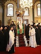 Предстоятель Русской Православной Церкви совершил молебен в Георгиевском Патриаршем соборе на Фанаре