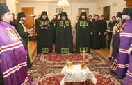 Состоялось наречение клирика киевского Свято-Пантелеимонового монастыря во епископа Яготинского