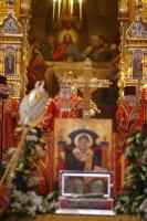 Святейший Патриарх Алексий обратился с посланием к архипастырям, пастырям, монашествующим и всем верным чадам Русской Православной Церкви в связи с принесением в Россию святых мощей — десницы святителя Спиридона Тримифунтского