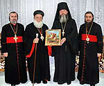 Представитель Патриарха Московского нанес визит Предстоятелю Сиро-Яковитской Церкви