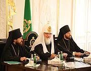 Приветственная речь Святейшего Патриарха Кирилла на встрече с Генеральным директором ЮНЕСКО Коитиро Мацуурой и участниками Группы высокого уровня по межрелигиозному диалогу