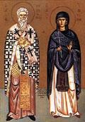 Краткое жизнеописание св. священномученика Киприана и св. мученицы Иустины