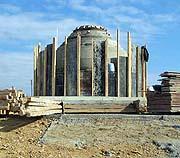 Продолжаются строительные работы по воссозданию памятника россиянам в Галлиполи (Гелиболу)