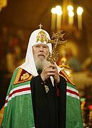 Cлово Святейшего Патриарха Алексия в Храме Христа Спасителя в день Всех святых, в земле Российской просиявших