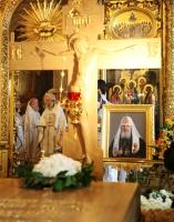 В день 80-летия Святейшего Патриарха Алексия в Москве молитвенно почтили память Первосвятителя
