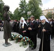 Святейший Патриарх Кирилл почтил память жертв массового голода 1932-1933 годов