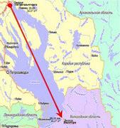 Крестный ход «Крестный путь. Соловки – Москва» прошел Беломорско-Балтийский канал и вступил в Волго-Балтийскую водную систему
