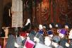 Патриарший визит во Францию, 3 октября. Молебен на Трехсвятительском подворье в Париже. Встречи с членами Ассамблеи православных епископов, главой МВД и президентом Франции. Молебен в соборе Парижской Богоматери.
