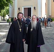 Представитель фонда «Русский мир» протоиерей Антоний Ильин посетил Литву