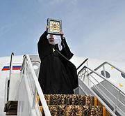 Предстоятель Русской Православной Церкви прибыл в Курск
