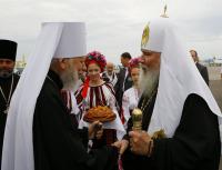 Святейший Патриарх Алексий прибыл в Киев