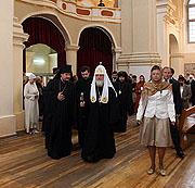 Предстоятель Русской Церкви посетил Софийский собор в Полоцке