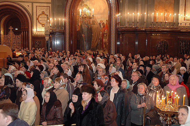 Патриаршее служение в день памяти святителя Филарета Московского