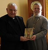 Церковно-археологический кабинет при Московской духовной академии посетил профессор Хуан Горски