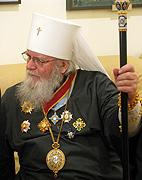 В Таллине прошли торжества по случаю 85-летия митрополита Таллинского и всея Эстонии Корнилия