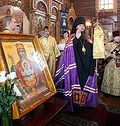 Торжества по случаю юбилея епископа Красногорского Саввы в храме иконы Божией Матери 'Троеручица' в Орехово-Борисове