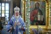 Патриаршее служение в день праздника Сретения Владимирской иконы Божией Матери